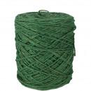 Jutekordel, diameter 3.5 mm, 1Kg ca.450 m, green